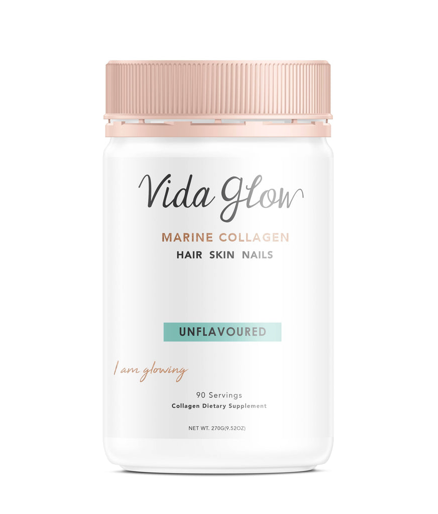 Vida Glow - Marine Collagen - Unflavoured (270g)