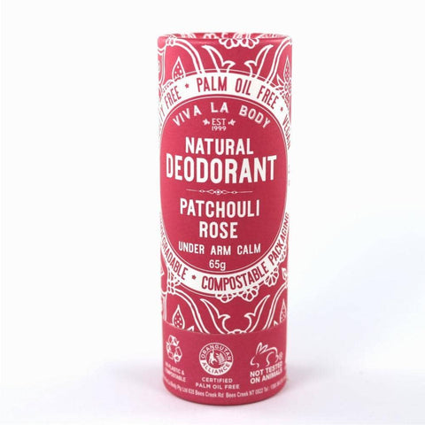 Viva La Body - Natural Deodorant - Patchouli Rose (65g)