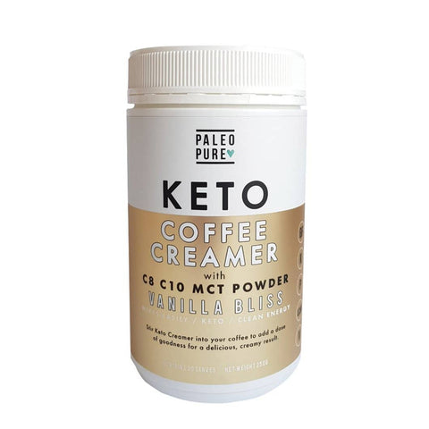 Paleo Pure - Keto Coffee Creamer - Vanilla Bliss (250g)