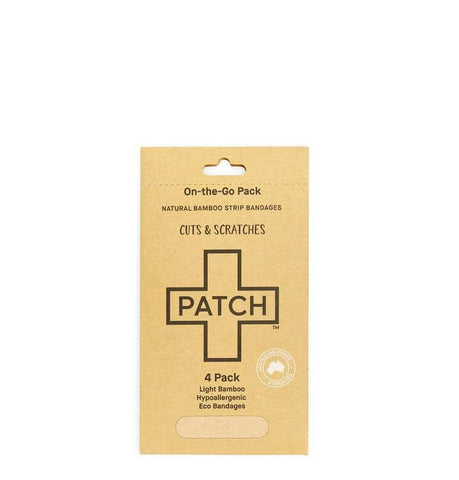 Patch - On-the-Go Bamboo Bandages - Cuts and Scratches (4 pack)