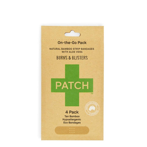 Patch - On-the-Go Bamboo Bandages - Burns and Blisters (4 pack)