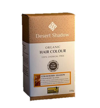 Desert Shadow Organic Hair Colour - Strawberry Shadow