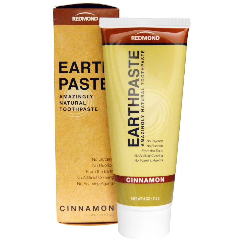 Redmond Earth Paste Toothpaste - Cinnamon