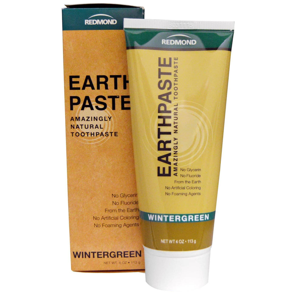 Redmond Earth Paste Toothpaste - Wintergreen