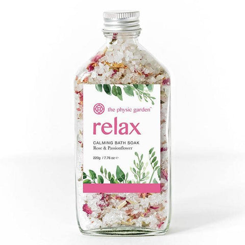 The Physic Garden - Bath Soak - Relax (220g)
