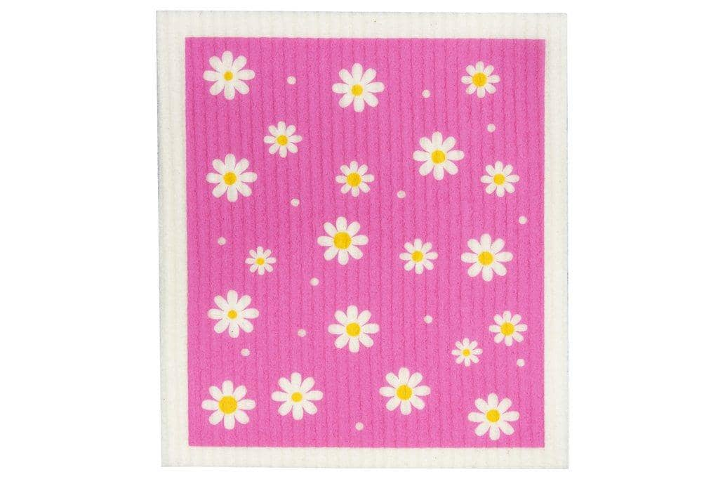 Retro Kitchen - Biodegradable Dish Cloth - Flowers