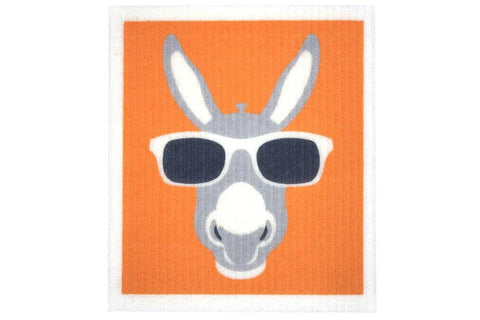 Retro Kitchen - Biodegradable Dish Cloth - Donkey