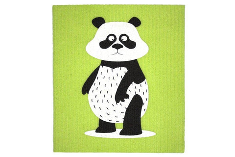 Retro Kitchen - Biodegradable Dish Cloth - Panda