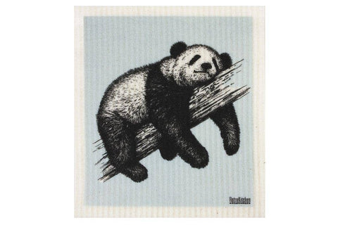 Retro Kitchen - Biodegradable Dish Cloth - Sketch Panda