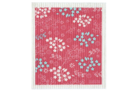 Retro Kitchen - Biodegradable Dish Cloth - Blossom