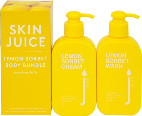 Skin Juice - Lemon Sorbet Body Bundle