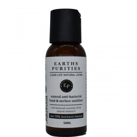Earths Purities Hand and Surface Sanitizer - 50ml