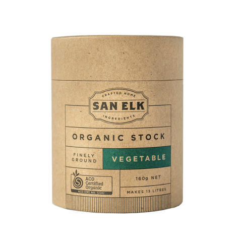 San Elk - Organic Artisan Stock - Vegetable (160g)