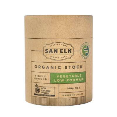 San Elk - Organic Artisan Stock - Vegetable Low Fodmap (160g)
