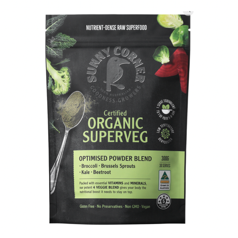 Sunny Corner - Certified Organic Powder Blend - Superveg (300g)