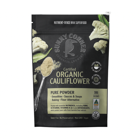 Sunny Corner - Certified Organic Powder Blend - Cauliflower (150g)
