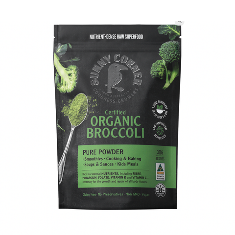 Sunny Corner - Certified Organic Powder Blend - Broccoli (150g)