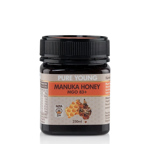 Pure Young - Manuka Honey - MGO 83+ (250ml)
