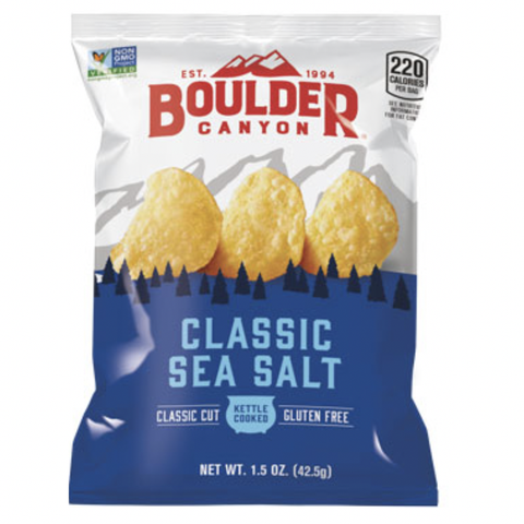 Boulder Canyon - Classic Cut Chips - Classic Sea Salt (42.5g)