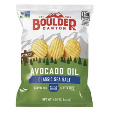 Boulder Canyon - Canyon Cut Chips - Classic Sea Salt with Avocado Oil (35.4g)