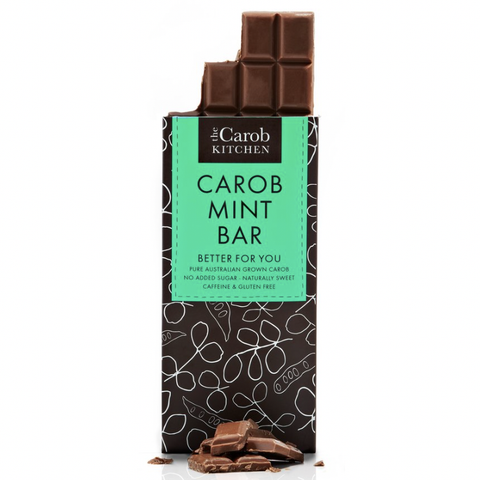 The Carob Kitchen - Carob Mint Bar (80g)