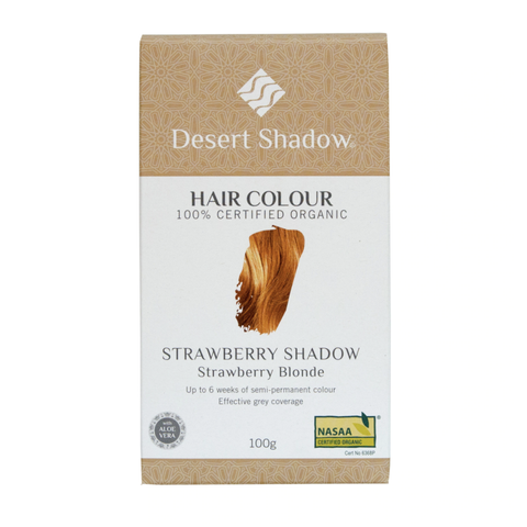 Desert Shadow - Organic Hair Colour - Strawberry Shadow (100g)