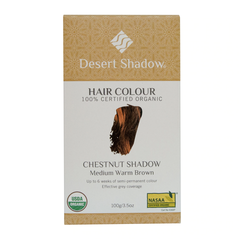 Desert Shadow - Organic Hair Colour - Chestnut Shadow (100g)