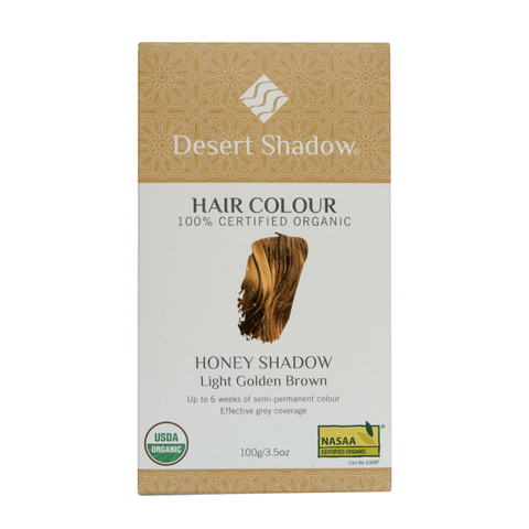 Desert Shadow - Organic Hair Colour - Honey Shadow (100g)