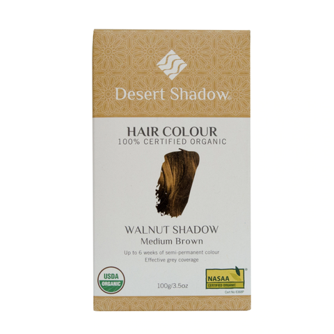 Desert Shadow - Organic Hair Colour - Walnut Shadow (100g)