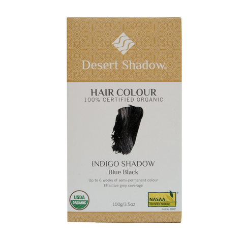 Desert Shadow - Organic Hair Colour - Indigo Shadow (100g)