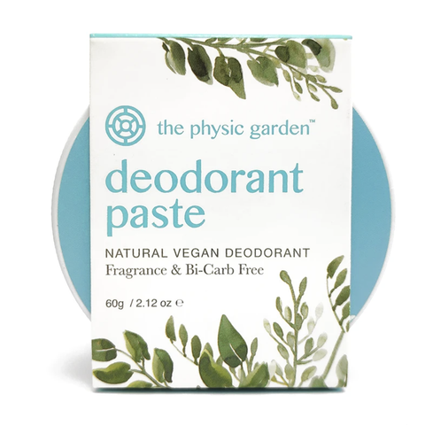The Physic Garden - Deodorant Paste - Fragrance and Bicarb Free (60g)