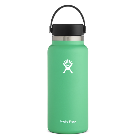 Hydro Flask - Double Insulated Wide Mouth Bottle with Flex Cap - Spearmint (946ml)