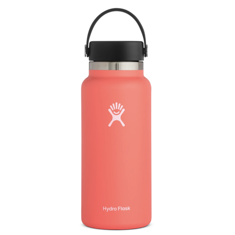 Hydro Flask - Double Insulated Wide Mouth Bottle with Flex Cap - Hibiscus (946ml)