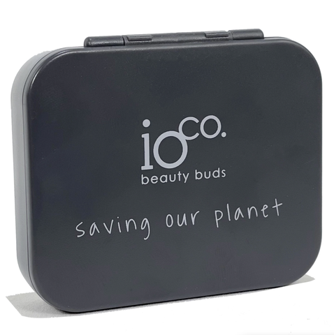 ioCO. - Reusable Beauty Buds - Charcoal Grey (4 Pack)