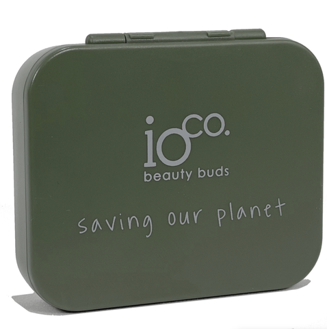 ioCO. - Reusable Beauty Buds - Olive Green (4 Pack)
