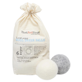 That Red House - 100% Pure Wool Dryer Balls (6 pack)