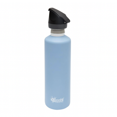 Cheeki - Single Wall Active Bottle with Tri-Tech Sports Lid - Surf (750ml)