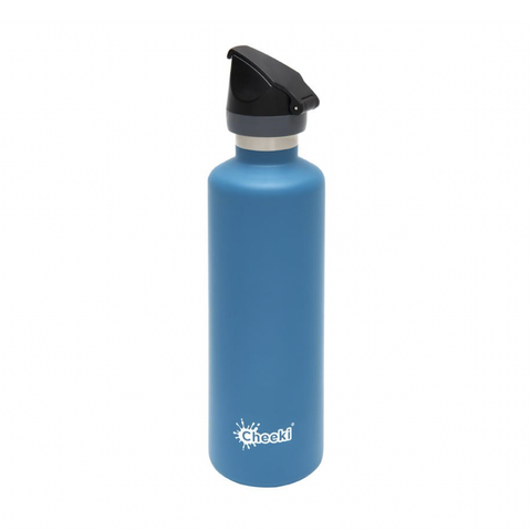 Cheeki - Insulated Active Bottle with Tri-Tech Sports Lid - Topaz (600ml)