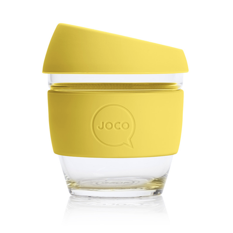 JOCO - Reusable Glass Cup - Meadowlark (Small 8oz)