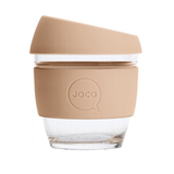 JOCO - Reusable Glass Cup - Amberlight (Small 8oz)