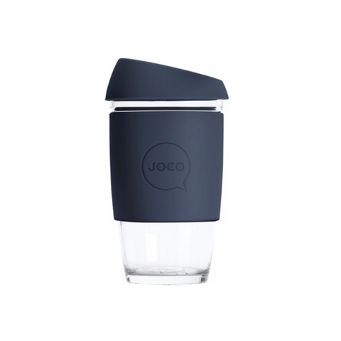 JOCO - Reusable Glass Cup - Mood Indigo (Extra Small 6oz)