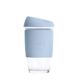 JOCO - Reusable Glass Cup - Vintage Blue (Extra Small 6oz)