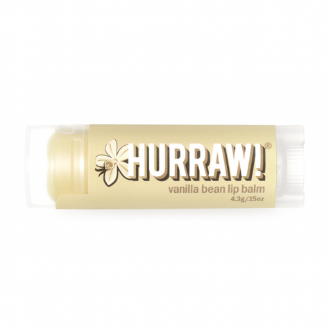 Hurraw! - Vegan Lip Balm - Vanilla Bean (4.3g)