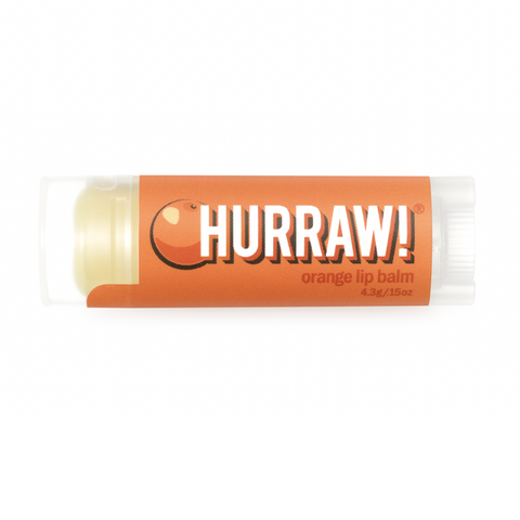 Hurraw! - Vegan Lip Balm - Orange (4.3g)