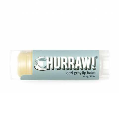 Hurraw! - Vegan Lip Balm - Earl Grey (4.3g)