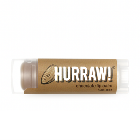 Hurraw! - Vegan Lip Balm - Chocolate (4.3g)