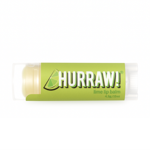 Hurraw! - Vegan Lip Balm - Lime (4.3g)