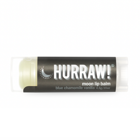 Hurraw! - Vegan Lip Balm - Moon Blue Chamomile Vanilla (4.3g)