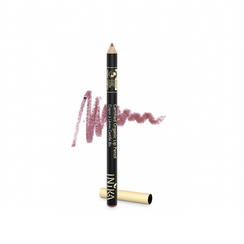 Inika Organic - Certified Organic Lip Pencil - Dusty Rose (1.2g)