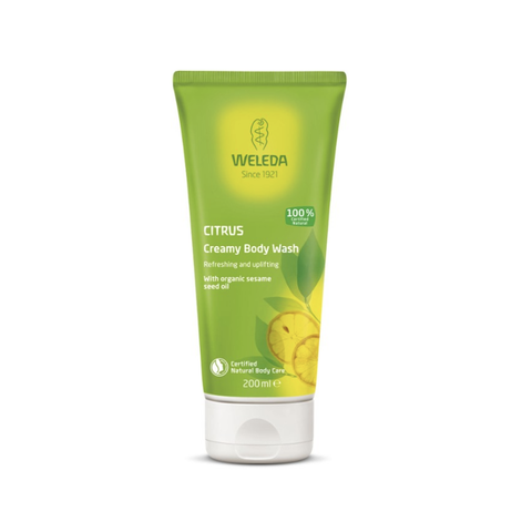 Weleda - Creamy Body Wash - Citrus (200ml)